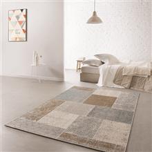 שטיח סטאר טלאים תכלת חום