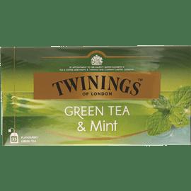 תה ירוק מנטה