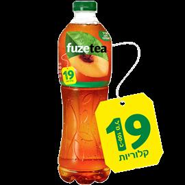 פיוז תה אפרסק 19 קלוריות