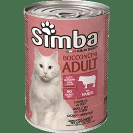 סימבה חתול טעם בשר בקר