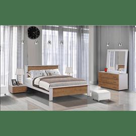 חדר שינה קומפלט מעץ