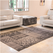 שטיח וינטג בז  אפור