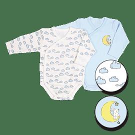 בגדי גוף מעטפת עננים0-3