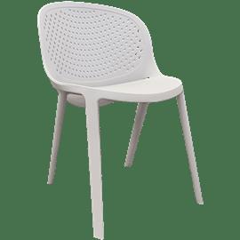 זוג כסאות פלסטיק מריה