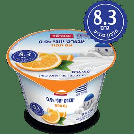 יוגורט יווני תפוז