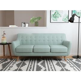 ספה תלת  מעוצבת