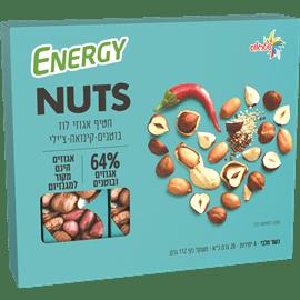 חטיפי אגוזי לוז בוטנים