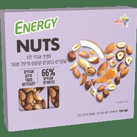 חטיפי אגוזי לוז שקדים