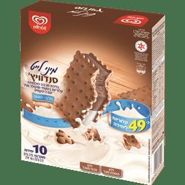 גלידה לייט מיני סנדוויץ
