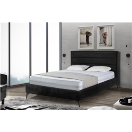 מיטה זוגית מרופדת אדל