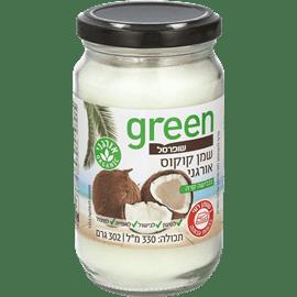 שמן קוקוס אורגני גרין