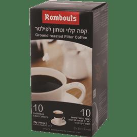 קפה טחון וקלוי לפילטר