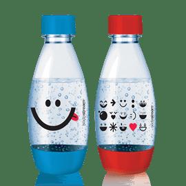 זוג בקבוקי הגזה לילדים