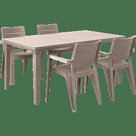 סט שולחן פוטורה לבן