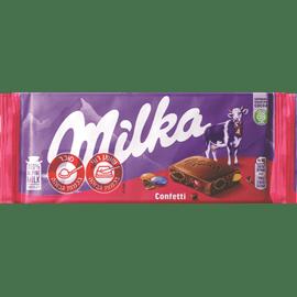 שוקולד מילקה קונפטי
