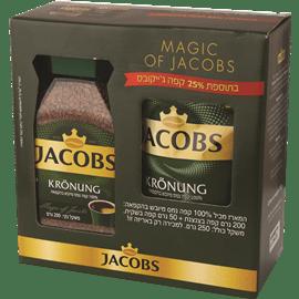 קפה ג'קובס קרוננג+25%
