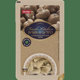 רביולי גבינה ופטריות