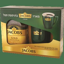 קפה נמס ג'קובס גולד+ספל
