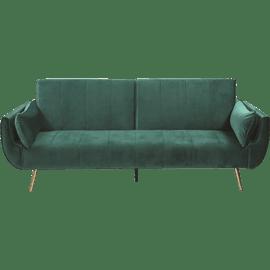 ספה נפתחת פריז ירוק