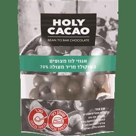 אגוזי לוז מצופים