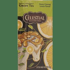 תה צמח.דבש לימון+ג'ינסנג