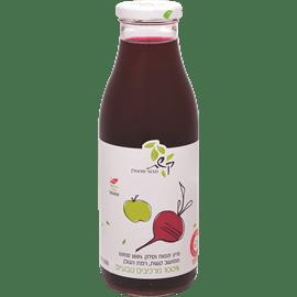מיץ סלק ותפוחים