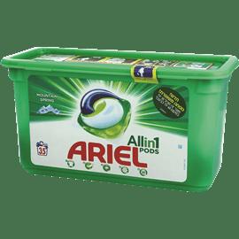 אריאל קפסולות לכביסה