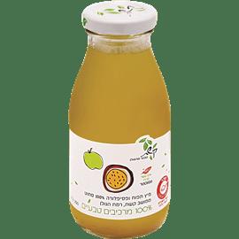 מיץ תפוחים ופסיפלורה