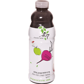 מיץ תפוח סלק פט