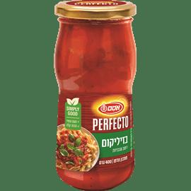 רוטב עגבניות ובזיליקום