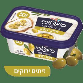 גבינת סימפוניה 5%זיתים