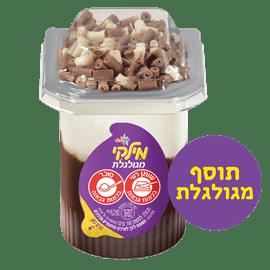 מילקי טופ שוקולדה מגולגל