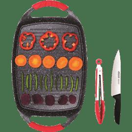 פלנצ'ה+סכין שף+מלקחיים