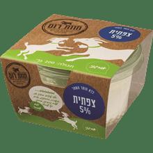 גבינה צפתית 5% אורגני