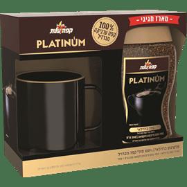 קפה פלטינום ברזילאי +ספל
