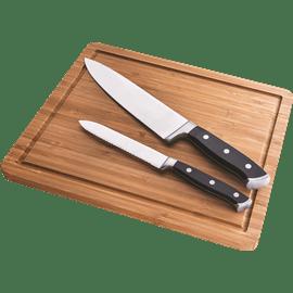 סט 2 סכינים עם בוצ'ר