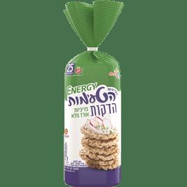 פריכיות אורז מלא דקות