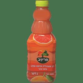 מיץ אשכולית אדומה 100%