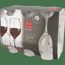 סט 6 גביעי יין