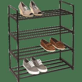 מעמד נעליים 4 קומות מתכת