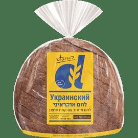 לחם עגול מקמח שיפון