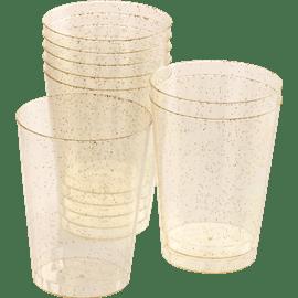 כוס קריסטל זהב