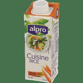 אלפרו שמנת על בסיס אורז