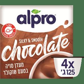 מעדן סויה בטעם שוקולד