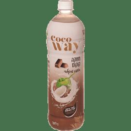 משקה קוקוס בטעם שוקולד