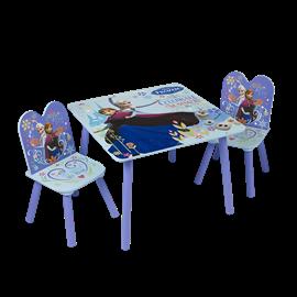 סט שולחן+2 כסאות פרוזן