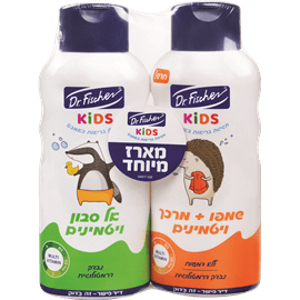 שמפו 2ב1+אל סבון קידס