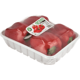 פלפל אדום אורגני ארוז