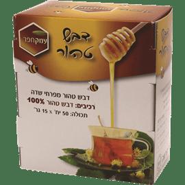 דבש טהור מפרחי שדה מארז