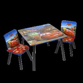 סט שולחן+2 כסאות קארס